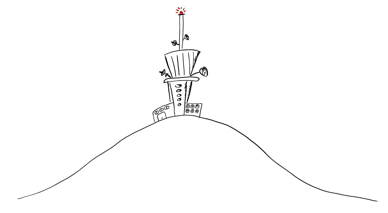 dyleň věž
